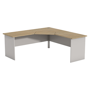 Ecotech Corner Workstation 1 Piece Top Thumbnail