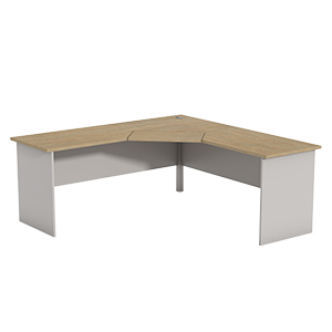 Ecotech Corner Workstation 2 Piece Top Thumbnail