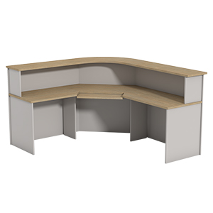 Ecotech Corner Workstation Reception Units Thumbnail