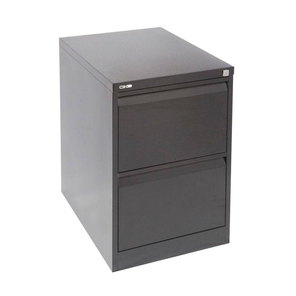 Go Steel 2 Drawer Filing Cabinet