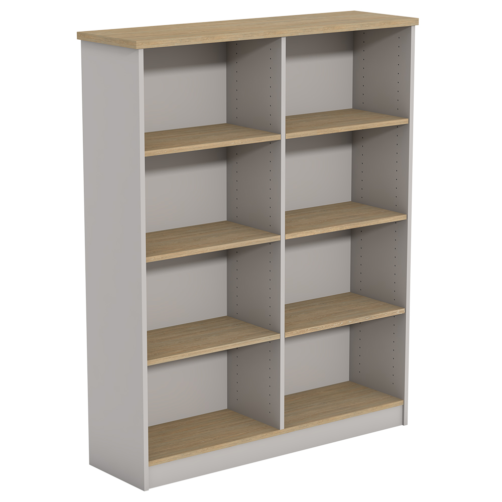 Ecotech Freestanding Bookcase With Division