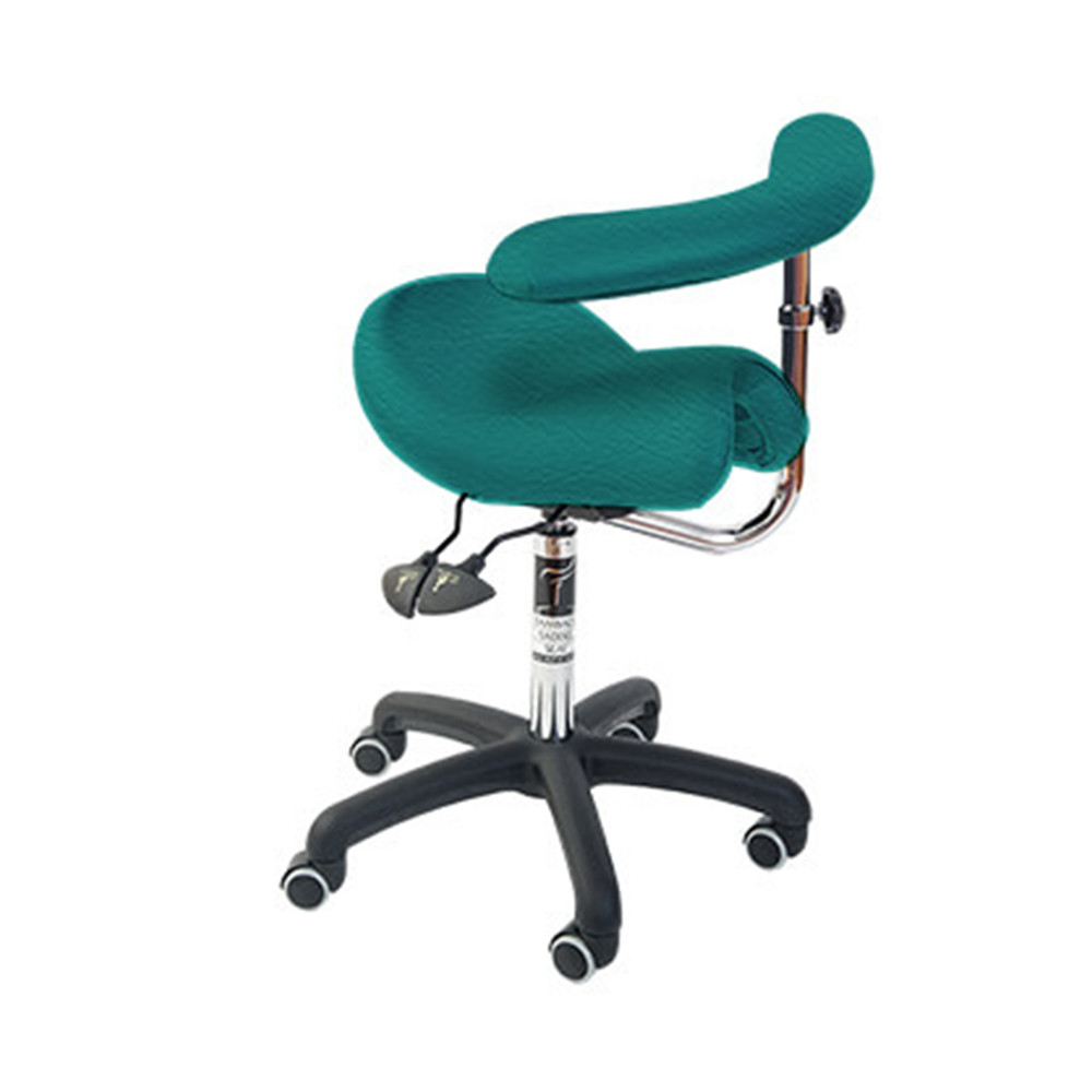 Bambach Seat - no back with Swing arm Emerald