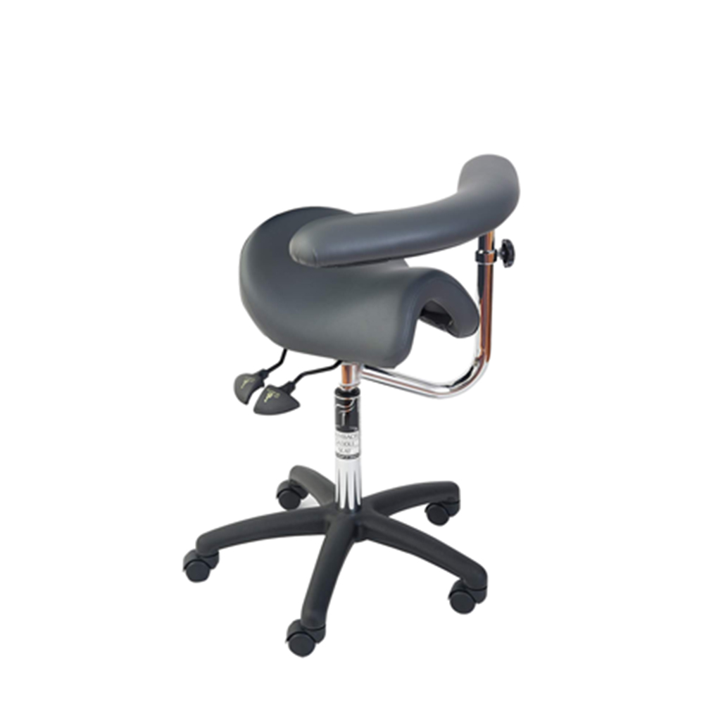 Bambach Seat - no back with Swing arm