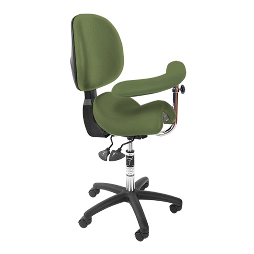 Bambach Seat with back and Swing arm Turtle