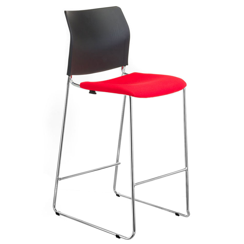 CS One Barstool With Seat Pad