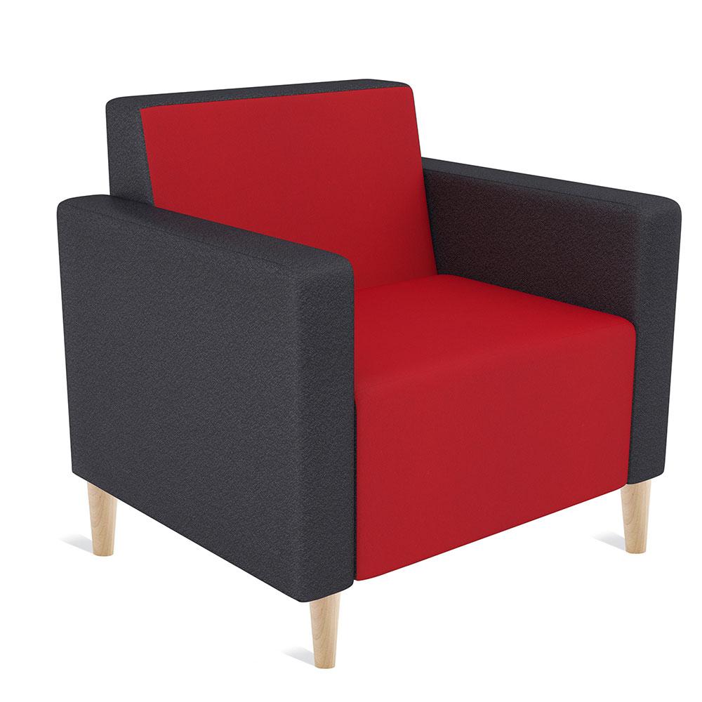 Koo and Koosh Single Seater With Timber Leg