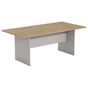 Ecotech Boardroom Table Rectangular Base Thumbnail