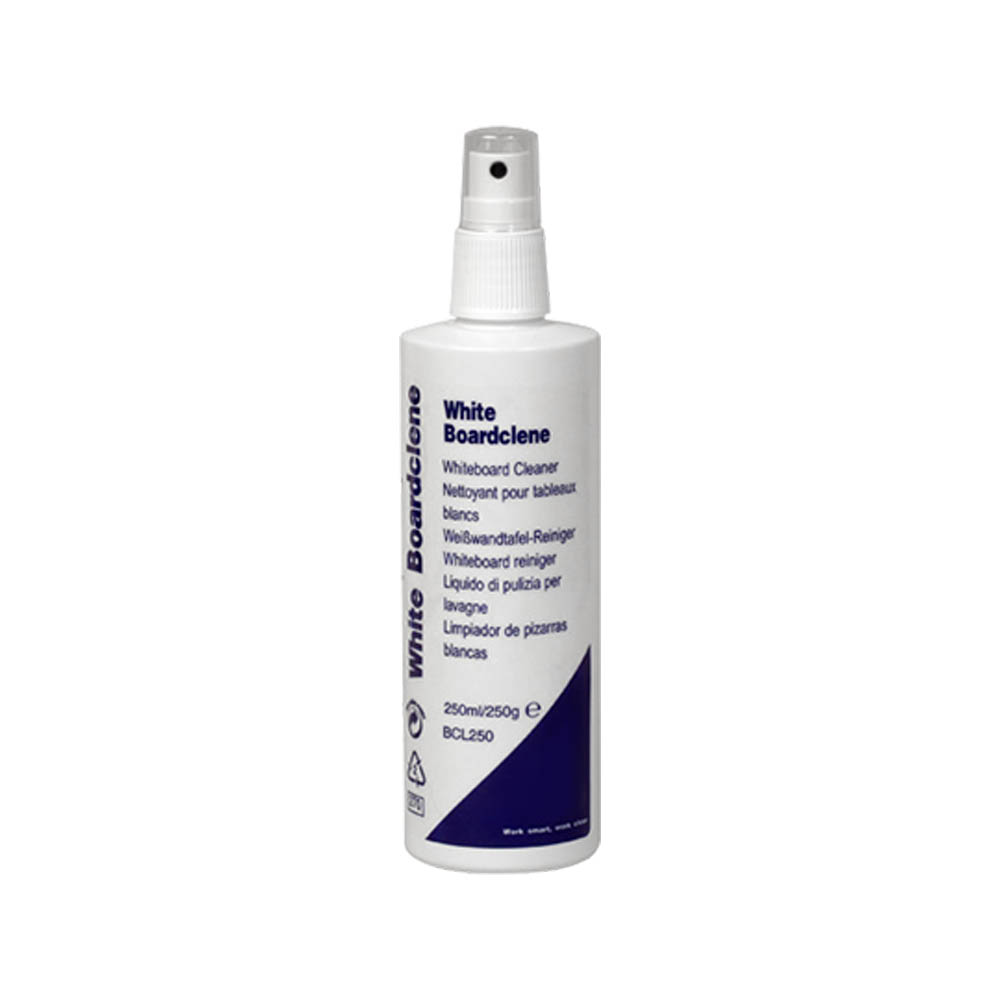 Whiteboard Cleaning Fluid Pump Action