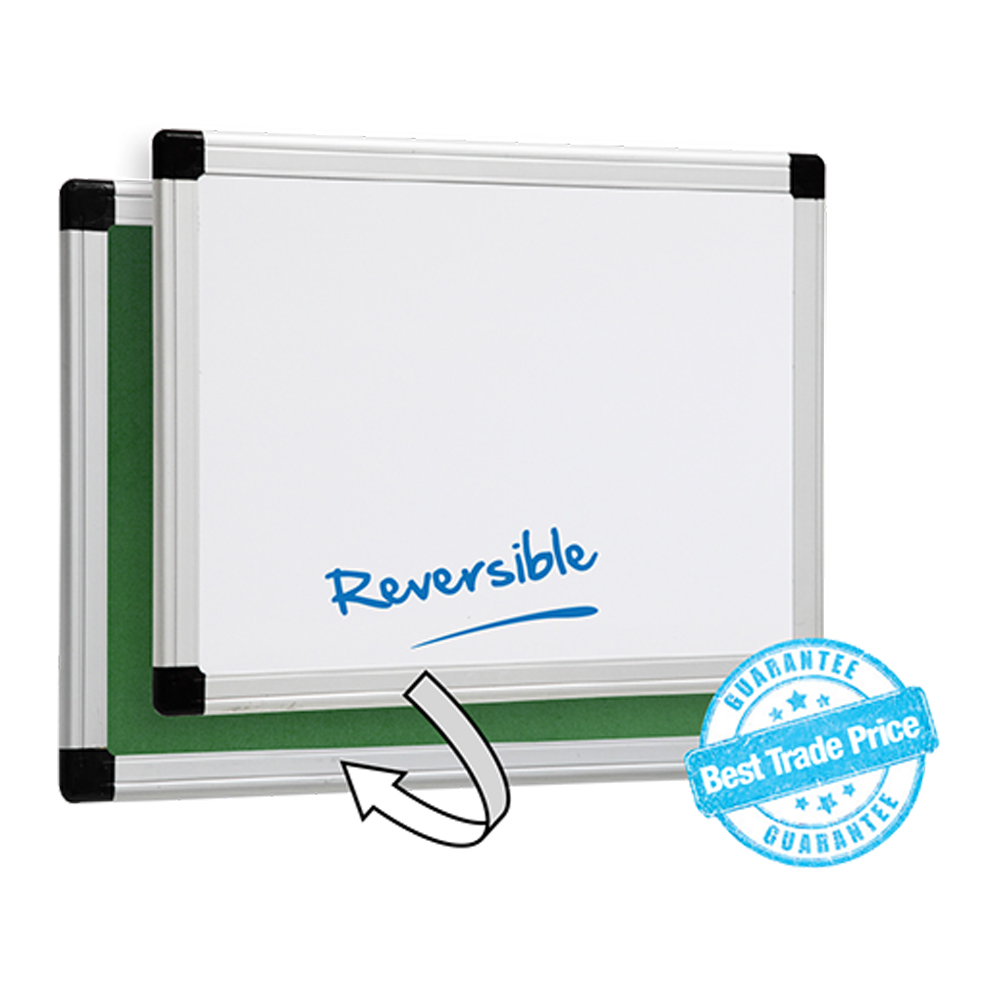 Gemini - Reversible Whiteboard and Pinboard