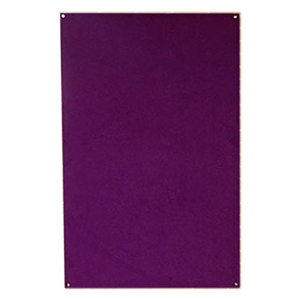 Unframed Wrapped Smooth Velour Pinboard Thumbnail