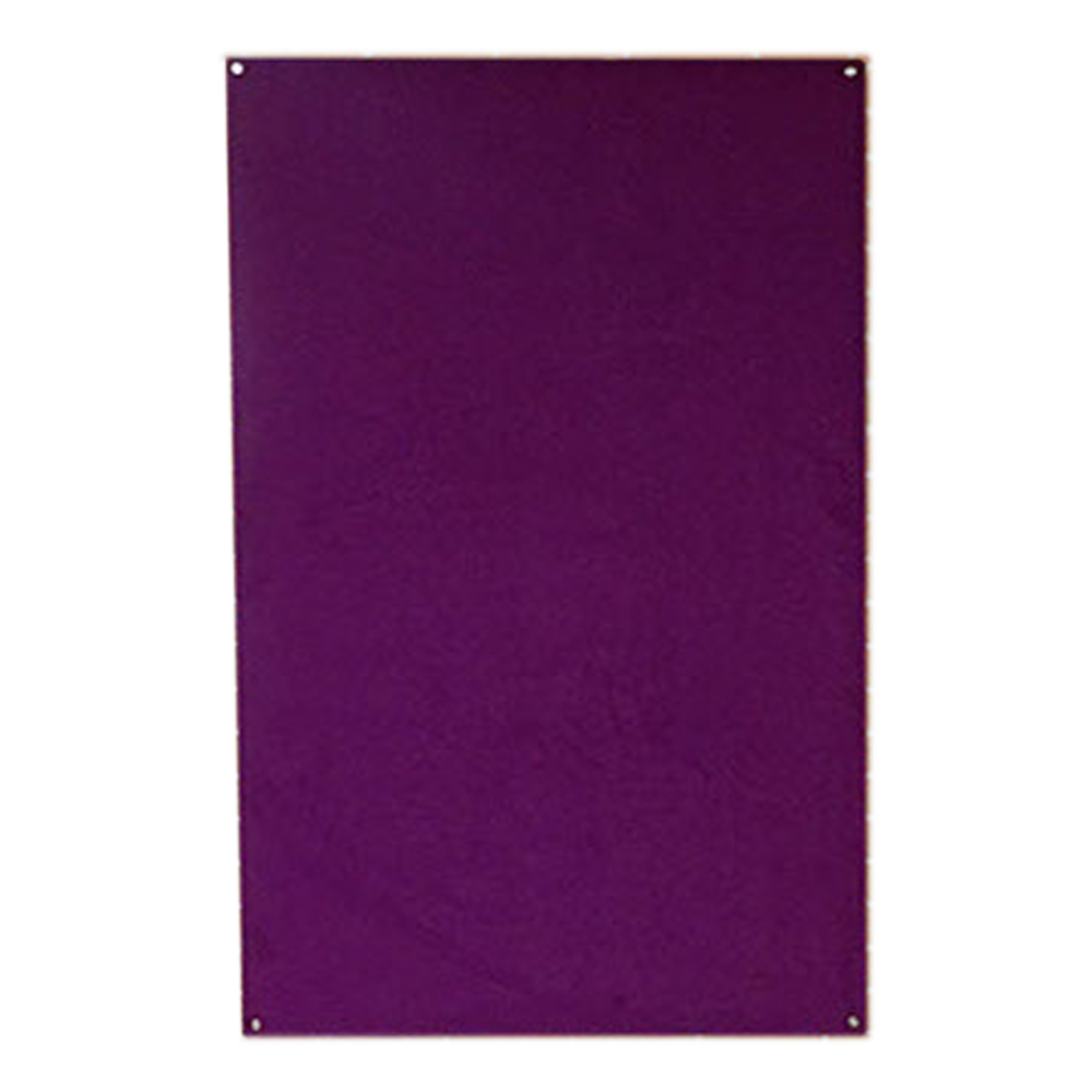 Unframed Wrapped Smooth Velour Pinboard