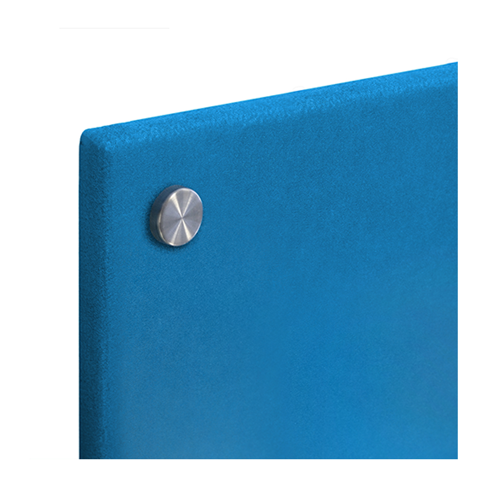 Unframed Wrapped Smooth Velour Pinboard Corner