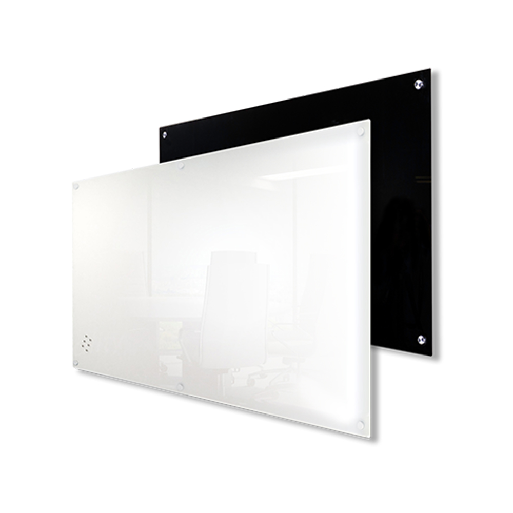 Lumiere Magnetic Glass Black and White