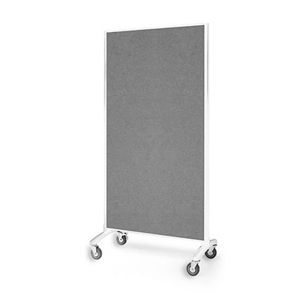 Communicate Glassboard - Room Dividers Grey