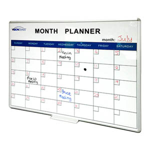 Deluxe Perpetual Month Planner Thumbnail