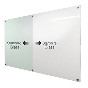 Starphire Safety Toughened Clear Glassboard Thumbnail